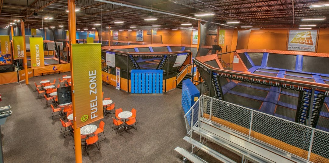 Commercial, Sky Zone Trampoline Park, Tallahassee Florida, Barrnett Fronczak Barlowe & Shuler Architects