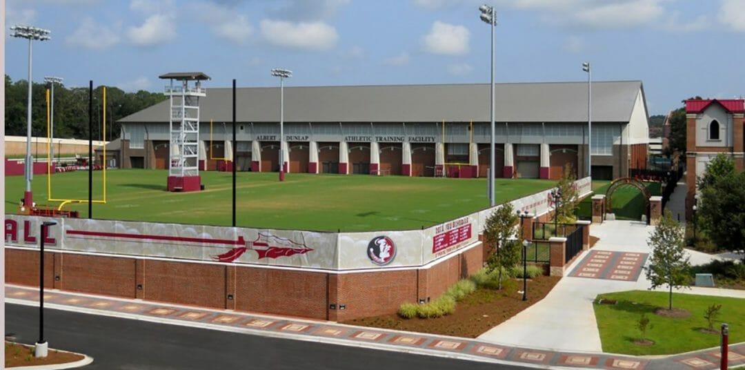 FSU Indoor and Outdoor Football Practice Facility